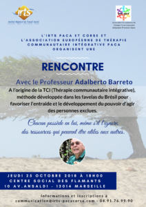 Rencontre TCI avec le Professeur Adalberto Barreto @ Centre Social les Iris | Marseille | Provence-Alpes-Côte d'Azur | France