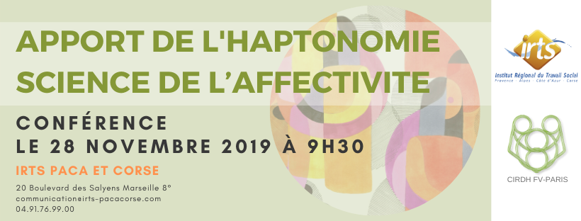 APPORT DE L'HAPTONOMIE SCIENCE DE L'AFFECTIVITE