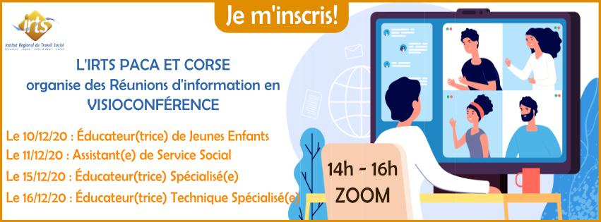 Réunion d'information EJE- Educateur(trice) de Jeunes Enfants - ZOOM (visio-conférence)