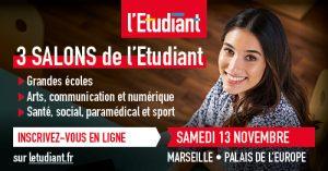 L'IRTS PACA et Corse au Salon de l'Etudiant Santé, Social, Paramédical et Sports @ Palais de l'Europe / Parc Chanot